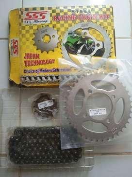 Gear Set SSS Yamaha Jupiter MX - Chain Kit ( Rantai Motor )