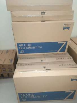 42inch sealed packed leds tv for sale with warranty n bill