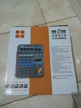 Power Mixer new BOB Audio+koper