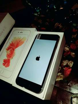 Apple iphone 6s plus 64gb rom good condition with bill box and charger