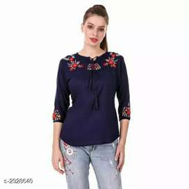 Rayon beautiful women top directly from store to your doorstep.