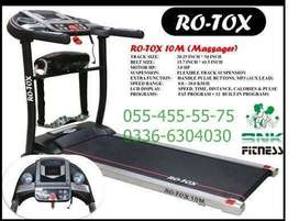 Rotox 10 M (Massager) - Motorized Treadmill High Quality Brand New
