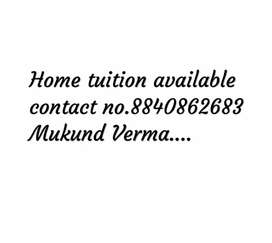 I'm tutor , for home tuition contact me