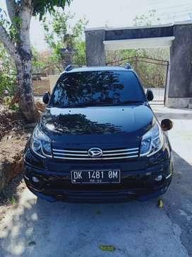 Mobil terios tahun 2017 peribadi masih mulus kilo meter msih low