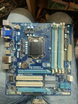 Gigabyte b75 motherboard 2nd and 3rd gen