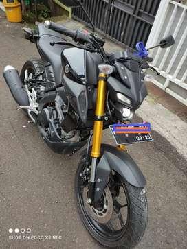 Yamaha MT 15 black gress like new