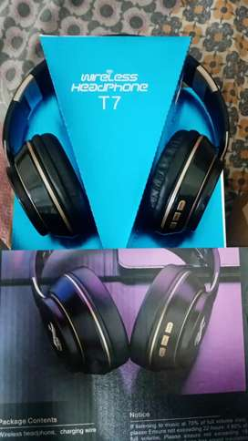 T7 Wireless Gaming Bluetooth Headphones for Android or Ios Mobile