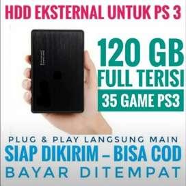 HDD 120GB FULL 35 GAME PS3 KEKINIAN Murah Meriah Harganya Siap Dikirim