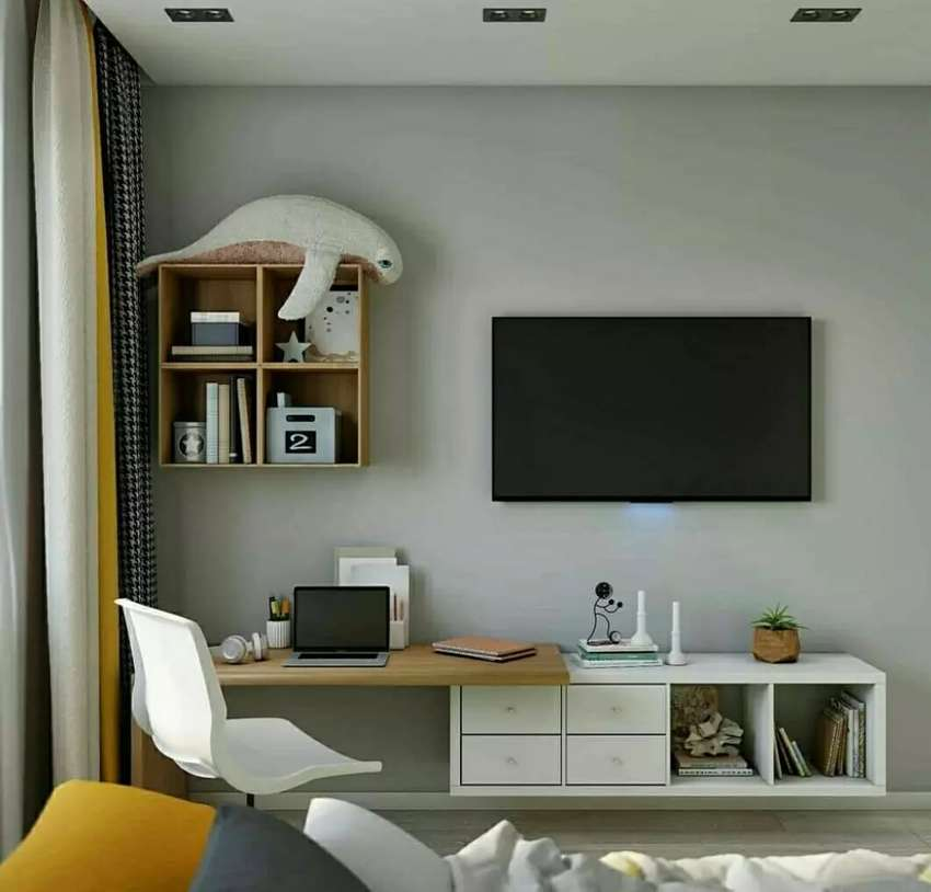 Cabinet tv gantung murah 0
