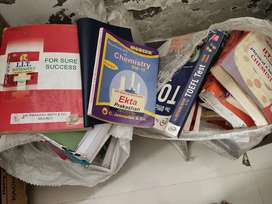 Class  11 & 12 PCM Jee  books with all major books collection