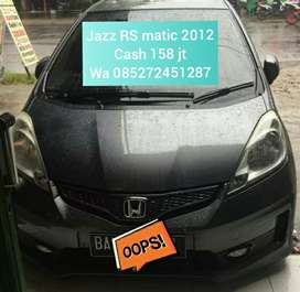 Jazz Rs Matic 2012 cash nego sajaa