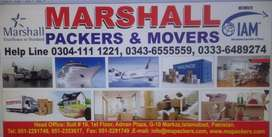 Marshall Packers & Movers, House Shifting,Transportation, Cargo Movers