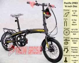 "Sepeda Lipat 16"" Folding Pacific Cakram 2980HT"