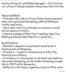 Requirement developers