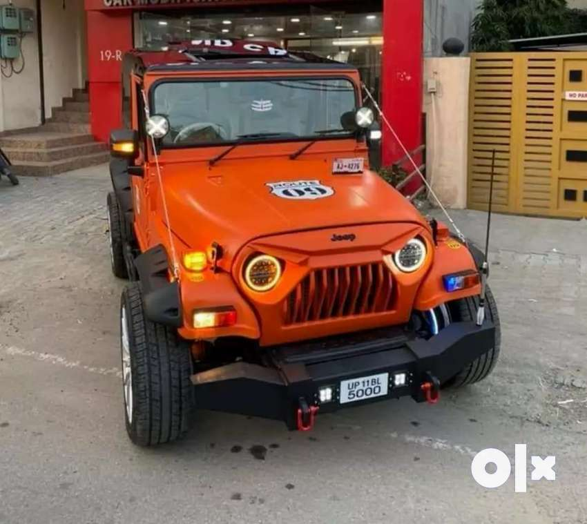 Open jeep modify 0