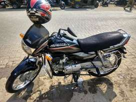Very Good condition bike with new exide battery having warranty of 3yr