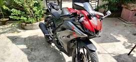 Yamaha R15 v3 thunder red