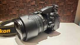 Nikon DSLR D3100 + 18-105mm Zoom Lens.