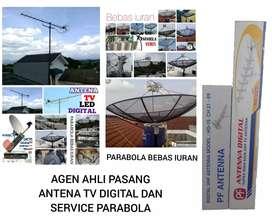 tukang instalasi ahli jasa pasang parabola dan antena TV digital