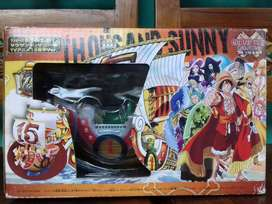 Miniatur Kapal Thousand Sunny One Piece 15th Anniversary Edition