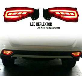 led reflektor belakang all new FORTUNER ( kikim variasi paris )