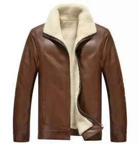 Genuine Leather Jacket With Furr for Men #BQ-666