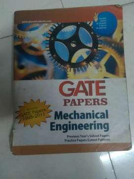 Mechanical engineering gate  book