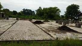 tanah pekarangan lokasi strategis padat siap bangun sidoarjo
