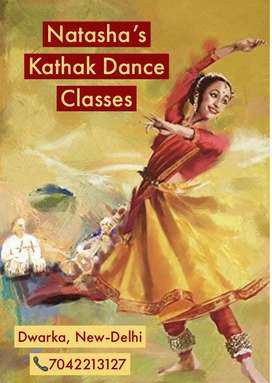 Kathak dance classes for kids and  Ladies of any age.