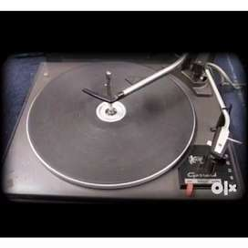 Gerrard Turntable with Record Changer