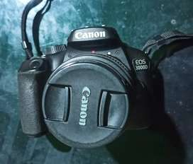 Very Good quality canon 3000d with all documents
