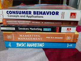 Marketing books for BCOM 3rd year