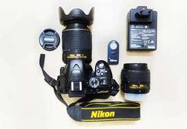 Nikion D5300 (Fresh camera and lenses)