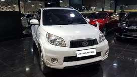 KM 59.000 Toyota Rush 1.5 G AT Matic 2013 Putih ASTINA MOBIL