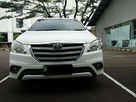 2014 Toyota Kijang Innova 2.5 G Automatic Diesel Putih Terawat
