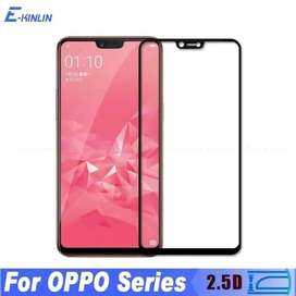 Tempered Glass Full Warna Oppo A5 A3s