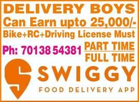 Executives delivery boys