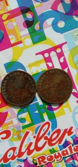 1912 & 1913 year old coins