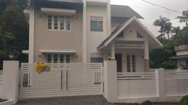6 cent land with 2000 sqft new house at kanjoor,near airport,aluva