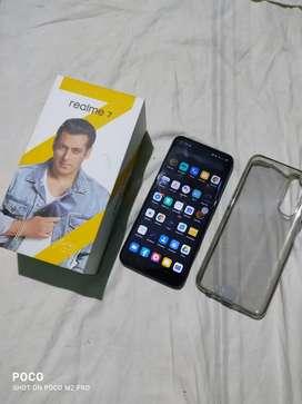 Realme 7 new mobile 6gb ram 64 internal  buy date(19/2/21)