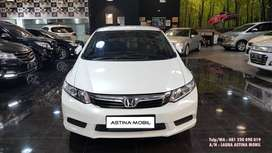 (KM 47rb) Honda Civic 1.8 FB AT Matic 2013 Putih ASTINA MOBIL