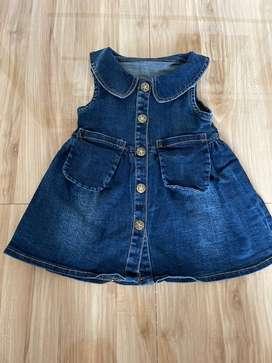 Dress blue jeans