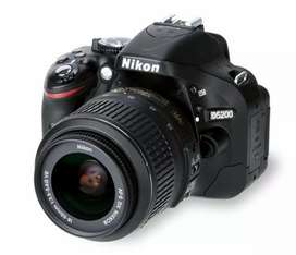 Nikon d5200 with dual lens