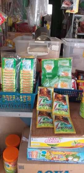 Vegeta scerber rasa jeruk paket 50rb