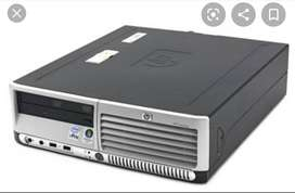 Core 2 Duo Desktop 2.4GHZ 2GB RAM. HDD 160GB