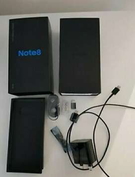 Samsung Note 8 Single sim Black colour