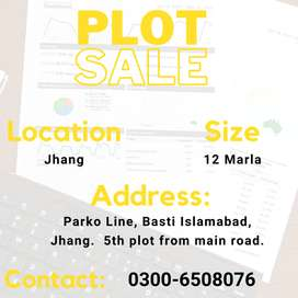 PLOT FOR SALE IN JHANG