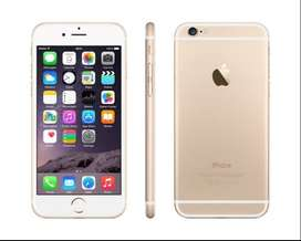 Apple iPhone 6 64GB premium GOLD, almost New for ONLY Rs 25,000.