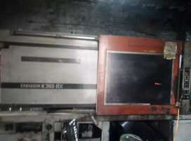 Factory with machinery sale