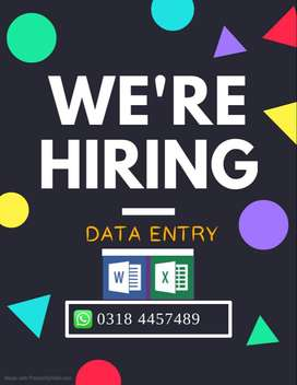 MS Office (Word/Excel) Working For Females / House wife (Home Based)